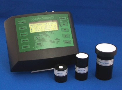 Skye Spectrosense 2+ Meter and light sensors