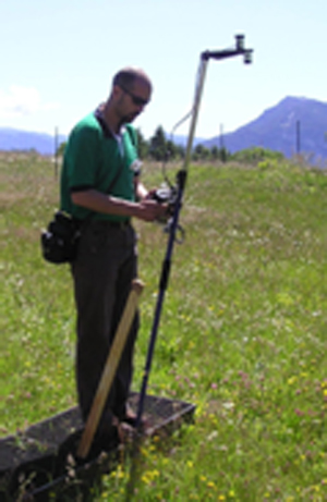 Field measurement of NDVI with SpectroSense 2+ Logger and light sensors from Skye Instruments