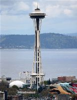 Measurement of CO2 from the Seattle Space Needle