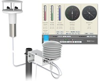 MetPak II Remote Weather Station from Gill Instruments
