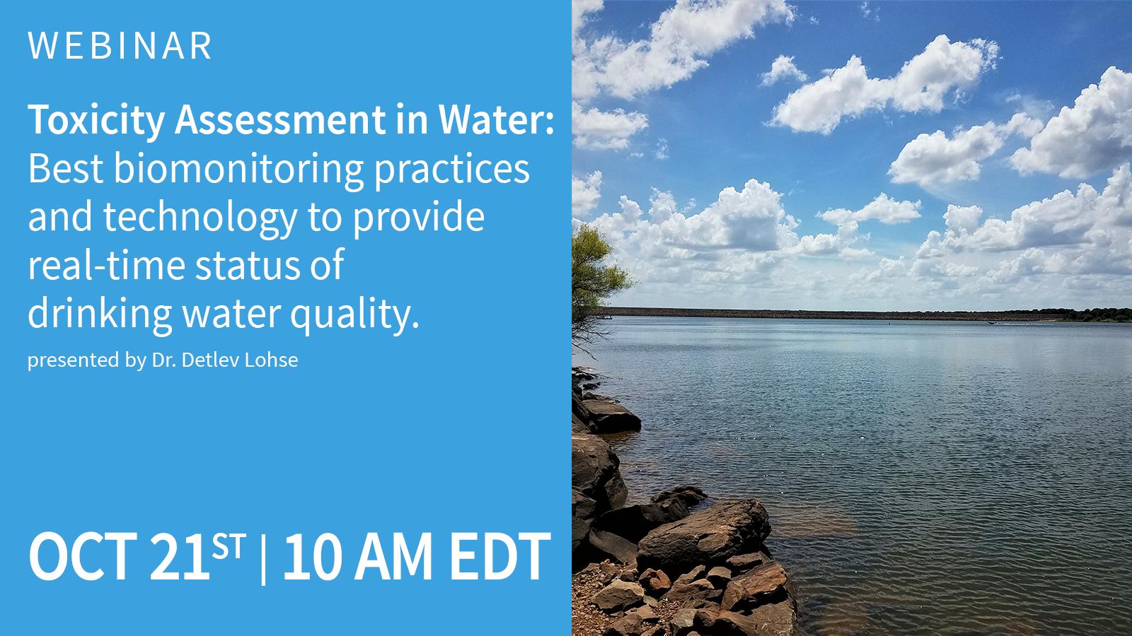 Toxic water assessment webinar