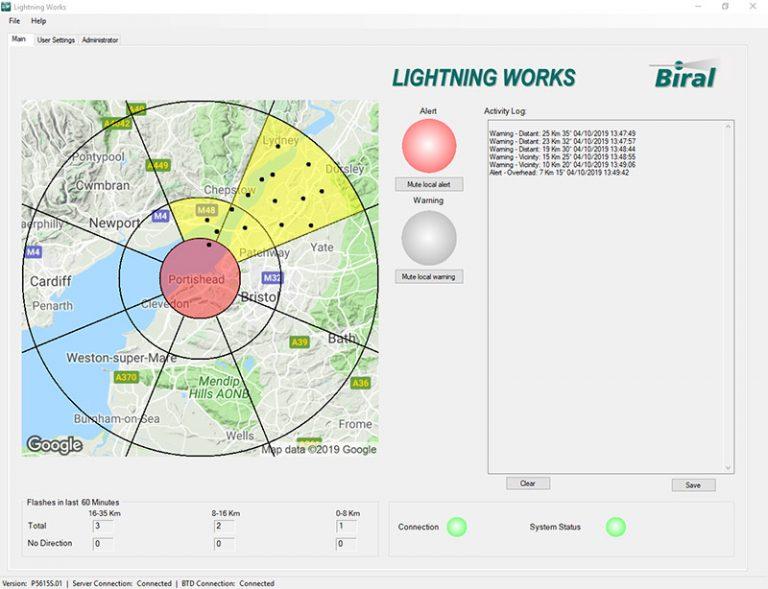 Lightning Works Alert