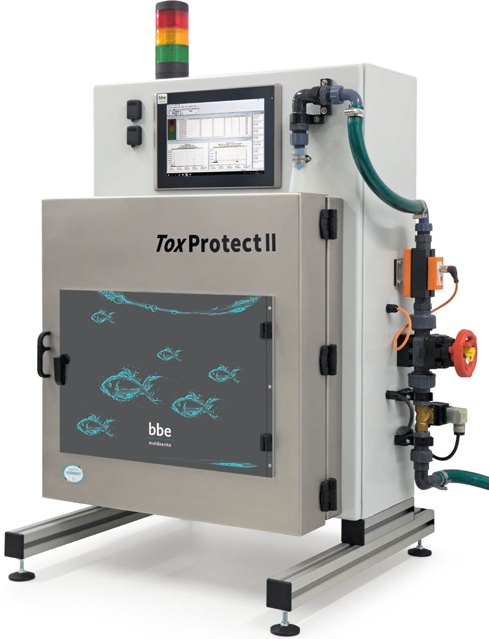 online water toxicity monitoring