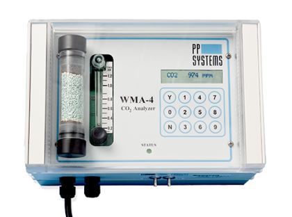 WMA-4 CO2 gas analyzer for continuous measurement and control of CO2