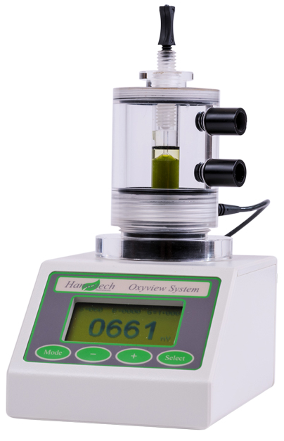 oxygen electrode system for liquid-phase and gas-phase measurement